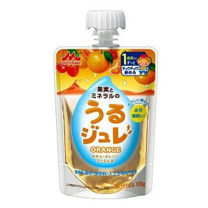 森永乳業株式会社果実とミネラルのうるジュレ ORANGE 100g×6個【RCP】