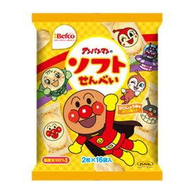 株式会社栗山米菓アンパンマンのソフトせん(2枚×16袋)×12個セット
