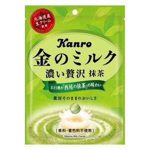 カンロ株式会社金のミルクキャンディ抹茶(70g)×6個セット【北海道・沖縄は別途送料必要】