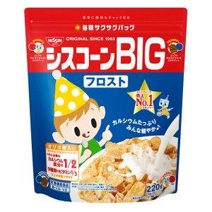 【送料無料】日清シスコ株式会社シスコーンBIG フロスト(220g)×6個セット