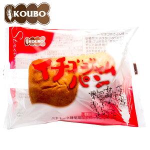 イチゴジャムパン1