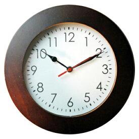 ■名入れ木製壁掛け時計(ブラウン)電波時計新築祝い・好きな文字入れ無料!名入れ時計 敬老の日の贈り物に 父の日