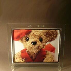 【あす楽対応】 【送料無料】 【名入れ】 フォトフレーム 2L サイズ 1枚用 (スタンド付) キャビネサイズ名入れ プレゼント 名入れ フォトフレーム 結婚祝い 結婚記念日 クリスマス プレゼント 出産祝い お祝い 母の日 名入れ 父の日
