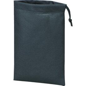 TRUSCO 不織布巾着袋10枚入 黒 260X180MM TNFD-10-S 8539