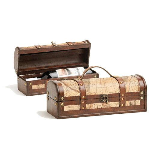 True WINE TOOL トルゥー ワインバッグ ケース ボックス #0605 世界地図 / 外国製 輸入 デザイナーズ ブランド おしゃれ 可愛い ケース ボックス バッグ 鞄 ワイン お酒 アンティーク