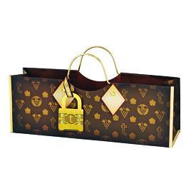 True WINE TOOL トルゥー ワインバッグ ショッパー 紙袋 #2891 / 外国製 輸入 デザイナーズ ブランド おしゃれ 可愛い ショッパー ショッピングバッグ 買い物袋 紙袋