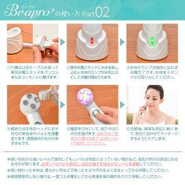 【送料無料】正規品Beaproビープロ004-マイクロカレント3D美顔ローラー