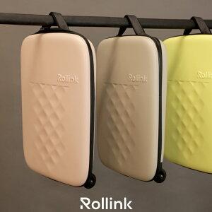 機内持ち込みok 薄型 40L スーツケース キャリーケース 折りたたみ スリム 軽量 5-20cm 伸縮 最新進化系 スーツケース ハード・ソフトキャリー Rollink ローリンク FLEX キャリーバッグ 40L 特許出願