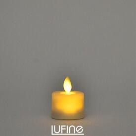Lufine ルフィネ LEDキャンドル 6個 セット ナチュラル lufine004 ティーライト キャンドルライト ろうそく ゆらぎ 炎 ナイトライト インテリア 部屋 装飾 おしゃれ