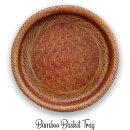 竹バンブートレイおしゃれバスケット籠かごバスケットフルーツバスケットカントリークラシック雑貨天然素材民芸品工芸品
