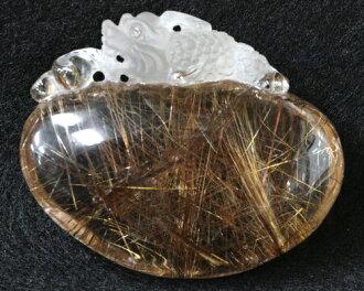 黄金金红石石英|钱针水晶|黄金金红石金红石石英|雕刻品|天然的1分毕竟品黄金金红石貔貅ヒキュウ物石头|功率斯通|针水晶|金红石|貔貅ヒキュウ|风水|貔貅|