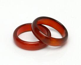 パワーストーン リング 天然石 指輪 オニキス リング カーネリアン グリーンアゲート 天眼石 サードオニキス ブラドストーン メノウ指輪 くり抜きリング【幅約6mm】