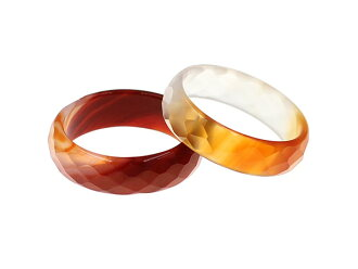 Third onyx ring red wood agate ring agate cut ring natural stone power stone cut