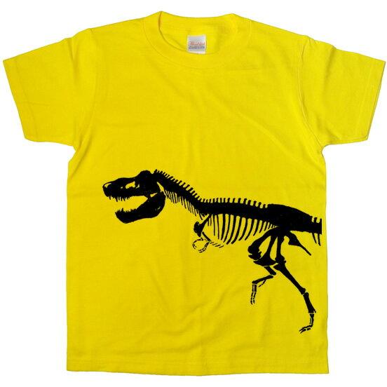 T-REX 手描き恐竜ボーンTシャツ 「ティラノサウルス」ハロウィンの衣装にも! am20K KOUFUKUYAブランド