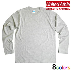United Athle 無地ロングTシャツ 男女兼用 オールシーズン 全8色 140cm-160cm/S-XL muji-lt01