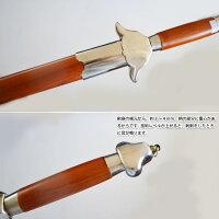 【太極拳】【剣】バランスが良く持ちやすい!ジュラルミン製太極剣。規定護手アルミ剣