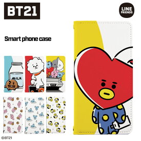 bts 公式グッズ スマホケース 手帳型 BT21bt21 iphone ケース 全機種対応 iPhone11 Pro iPhone XR XS iPhone8 AUQOS R2 Xperia ace XZ3 arrows be3 Galaxy Android one ほぼ全機種対応 (TATA COOKY RJ CHIMMY KOYA MANG SHOOKY VAN) 携帯ケース カバー 韓国 韓流 デザイン