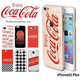 iPhone6S Plus ケース アイフォン ハード カバー iphone6sp デザイン コカ コーラ COCA COLA