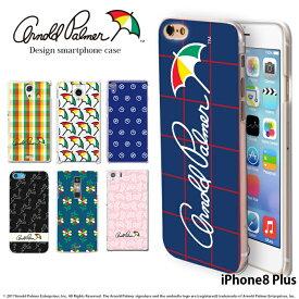iPhone8 Plus ケース アイフォン ハード カバー iphone8p デザイン アーノルドパーマー arnold palmer