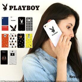 Nexus5 ケース ネクサス Y!mobile ワイモバイル ハード カバー nexus5 デザイン プレイボーイ PLAYBOY