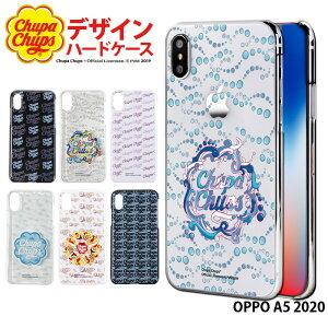 OPPO A5 2020 ケース スマホケース オッポ 携帯ケース ハード カバー デザイン チュッパチャプス Chupa Chups