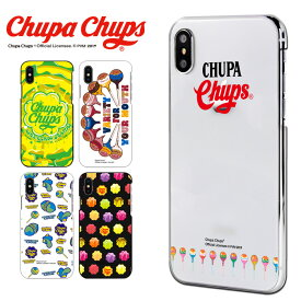 チュッパチャプス Chupa Chups スマホケース 全機種対応 iPhoneXR iPhone8 ケース カバー iPhoneXS Max AQUOS sense2 HUAWEI nova lite 3 OPPO AX7 Pixel 3 Q Stylus Android One S3 S5 アイフォン アンドロイドワン ハード デザイン かわいい ブランド