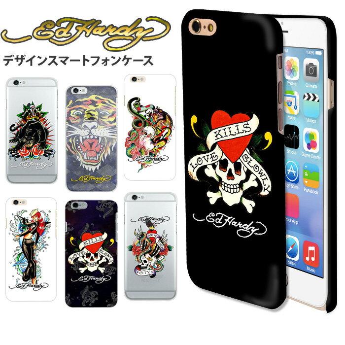 iPhoneXS iPhoneXS MAX iPhoneXR アイフォンXS エドハーディ 正規品 ほぼ全機種対応 多機種 スマホケース デザイン ハード (iPhone8 ケース iPhone7 AQUOS Xperia XZ2 XZ1 Galaxy huawei P20 lite Android One iPhoneSE) コラボ