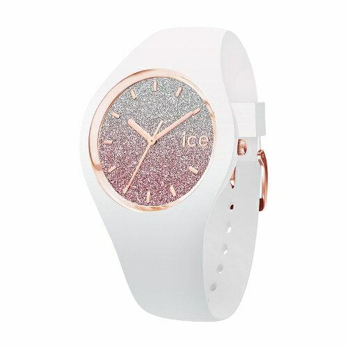 2年保証!アイスウォッチ(ICE-WATCH) 腕時計 ICE lo(アイスロー)shop限定モデル スモール レディース ホワイト ピンク 013427【smtb-m】