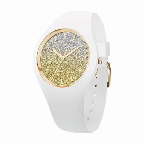 2年保証!アイスウォッチ(ICE-WATCH) 腕時計 ICE lo(アイスロー)shop限定モデル スモール レディース ホワイト ゴールド 013428【smtb-m】
