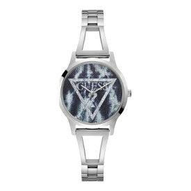 2年保証 Guess ゲス LOLA ローラ 腕時計 レディース W1145L1 ステンレス デニム ステンレスベルト シルバー 銀 クォーツ 電池式【smtb-m】