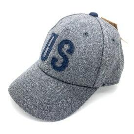 新品 GRIMM グリム ベースボールキャップ キャップ 帽子 文字 ワッペン 刺繍 メンズ フェルト風 グレー ネイビー US
