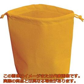 TRUSCO 不織布巾着袋 B5サイズ マチあり オレンジ 10枚入 HSB510OR