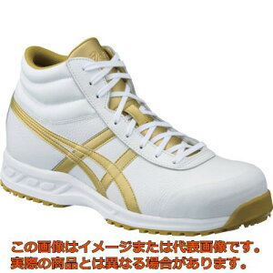アシックス ウィンジョブ 71S ホワイト×ゴールド 30.0cm FFR71S.019430.0