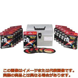 トーケン 切断砥石サムライ 105 100枚ケースセット RA105AZ100