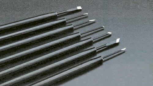 アルファミラージュ 精密マイクロナイフ TK-01 平刃 大 先端幅:3.0mm L00095 1本