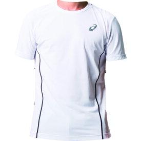 アシックス(asics) ウィンジョブハーフスリーブシャツ ブリリアントホワイト/ダークグレー 2271A010 2271A010.100