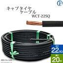 溶接用キャプタイヤ(キャブタイヤケーブル)WCT 22SQ 20m 【あす楽】
