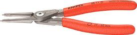 ☆KNIPEX/クニペックス 4811-J3  穴用精密スナップリングプライヤー 直  輸入 工具 【RCP】