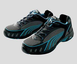 ☆プーマ/PUMA 安全靴 ヒューズ・モーション・ブルー・ウイメンズ・ロウ (22.5cm〜24.5cm)NO.64.232.0 女性用ローカット作業靴