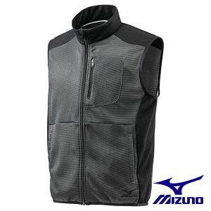 ☆ミズノ/MIZUNO F2JC0180 KUGEKIメッシュベスト メンズ ブラック (M・L・XL・2XLサイズ)