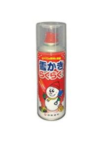 ☆【除雪対策】 シントー 雪かきらくらくくん 9973180 離雪・雪付着防止スプレー コード(4811062)