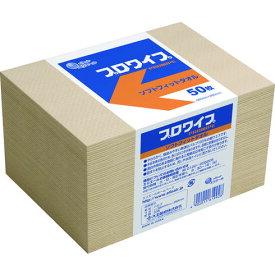 【代引き不可】☆エリエール 703526 エリエールプロワイプ ソフトフィットタオル 50枚X24パック入(ケース) 紙ウエス   コード(1602592) 【RCP】
