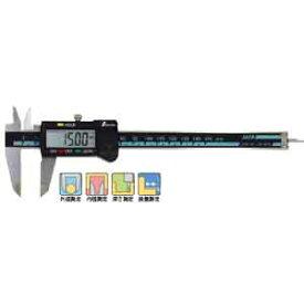 シンワ デジタルノギス大文字150mmホールド機能付 19975【RCP】