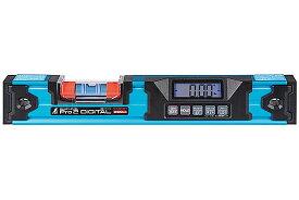 ☆シンワ 75316 ブルーレベル Pro 2 デジタル350mm 防塵防水 マグネット付 水平器