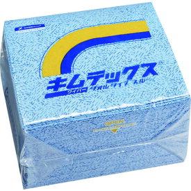 【代引き不可】☆クレシア 60732 大箱 キムテックス タオルタイプ ブルー 50枚×12束  コード(1373670)  【RCP】