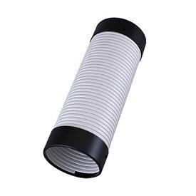 【代引き不可】☆スイデン SS-D-16MXWB-114-350 スポットエアコン用 別売部品 SS冷風リードダクト(吹出側) φ114(内径)×350mm 16MXB 白-黒