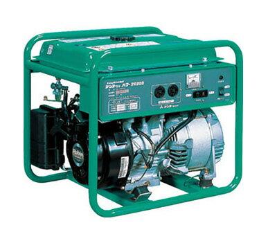 【送料無料】【代引き不可】☆DENYO/デンヨー GAシリーズ GA-2606U2 小型ガソリンエンジン発電機  単相 60Hz 2.6kVA  軽量55kg 【RCP】