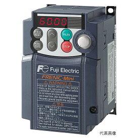 【代引き不可】☆富士電機 FRN0.75C2S-6J コンパクト形インバータ FRENIC Miniシリーズ 適用モータ0.75kW 単相100V 【返品不可】