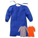 ☆大中産業 フォーテック 袖付きエプロン LLサイズ FAP-501[ブルー] FGAP-504[グレー] FOAP-509[オレンジ…