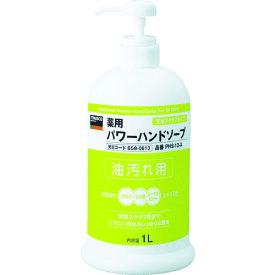 ☆TRUSCO/トラスコ中山 PHS-10-A 薬用パワーハンドソープ ポンプボトル1.0L   コード(8580613)